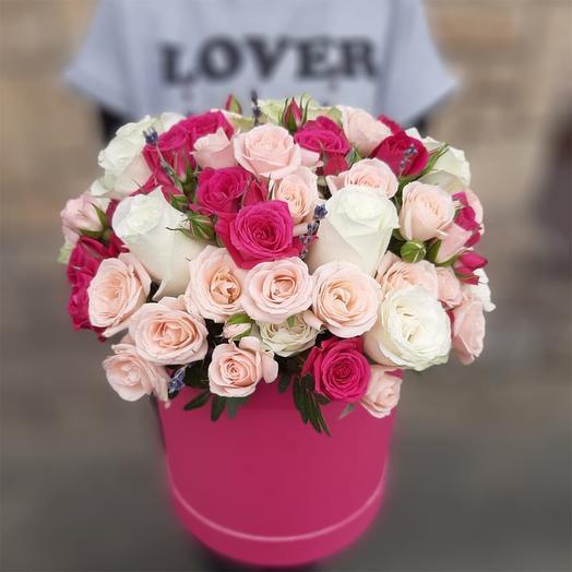 Любовь без границ: букеты цветов на заказ Flowwow