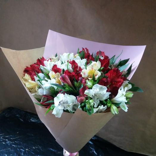 Альстромерии микс: букеты цветов на заказ Flowwow