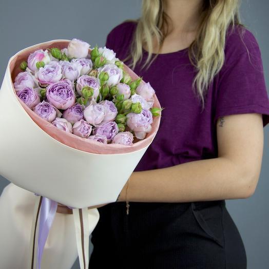 """Букет кустовых роз """"Розмарин"""""""