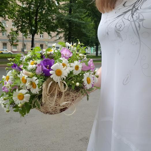 """Композиция """"Ромашковое поле"""": букеты цветов на заказ Flowwow"""