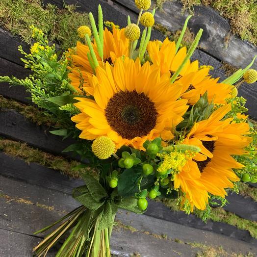 Букет Русское Поле: букеты цветов на заказ Flowwow