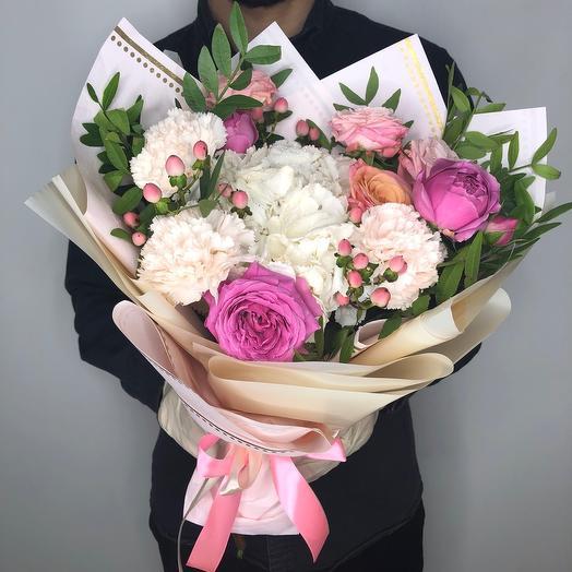 «Летний рассвет»: букеты цветов на заказ Flowwow