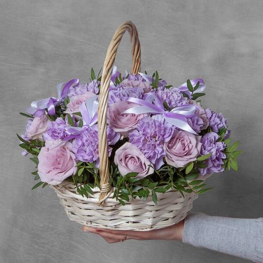 Корзина с цветами Мелодия Души