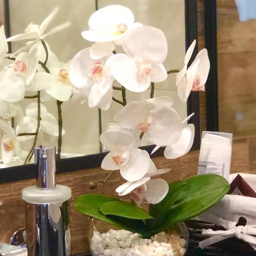 Орхидея из селикона