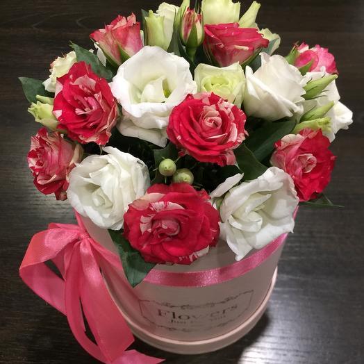 Цветы в коробке 1210