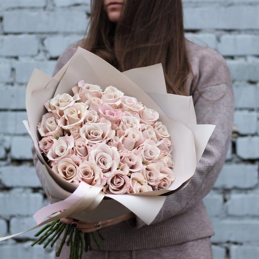 Пудровые розы Мента