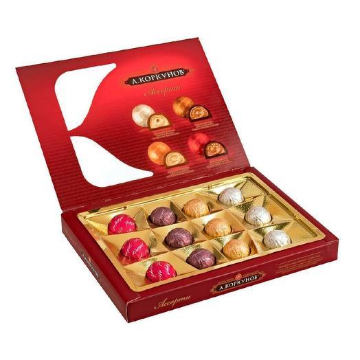 Шоколадные конфеты А.Коркунов ассорти