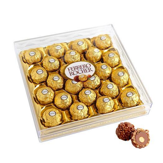 Набор конфет Ferrero Rocher из молочного шоколада, с начинкой из крема и лесного ореха