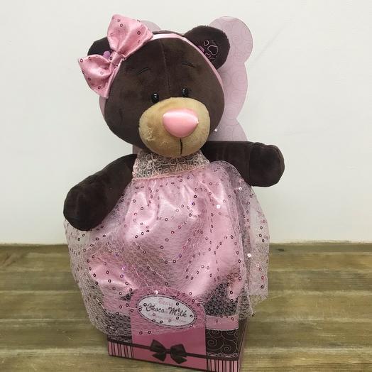 Мишка в платье «Choko milk» коллекционный