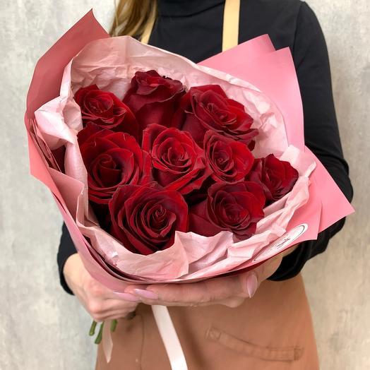 Букет из 9 роз Эквадор
