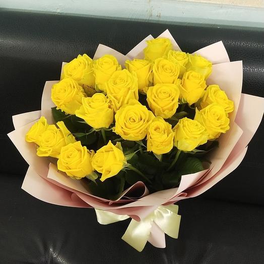Жёлтые розочки