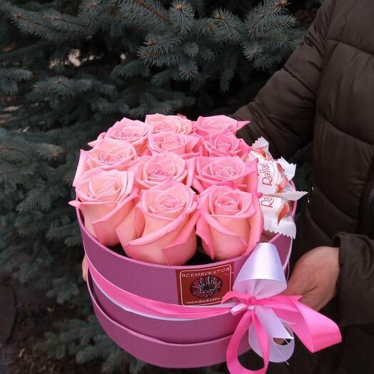 """""""Розовая мечта"""" с рафаэлло"""