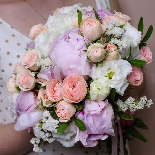 """Bride's bouquet""""Cloud"""""""