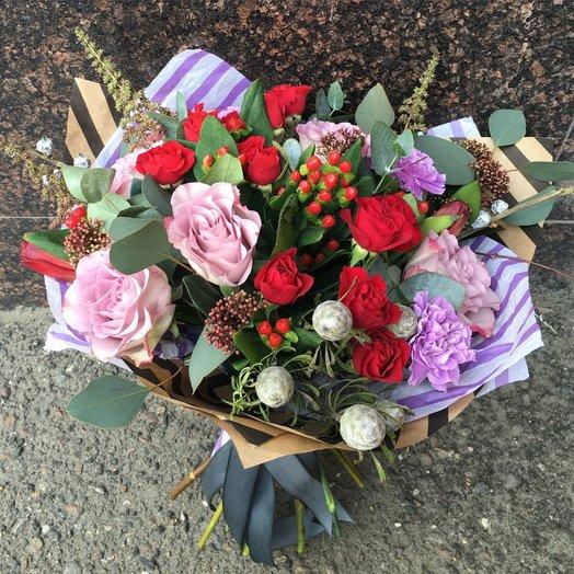 Букет 241: букеты цветов на заказ Flowwow