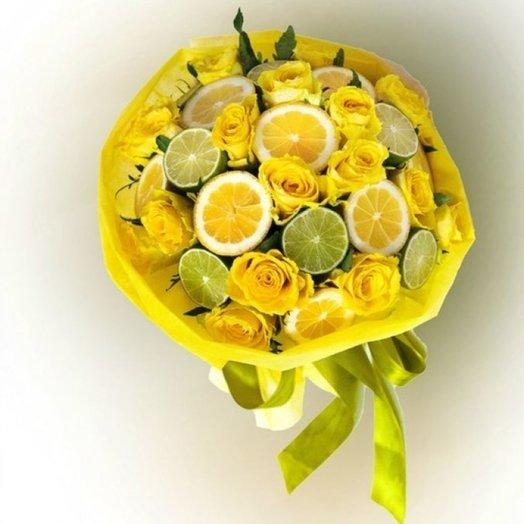 Солнечный цитрус: букеты цветов на заказ Flowwow