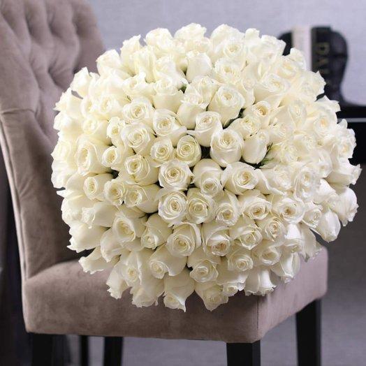 Букет из 101 розы Proud: букеты цветов на заказ Flowwow