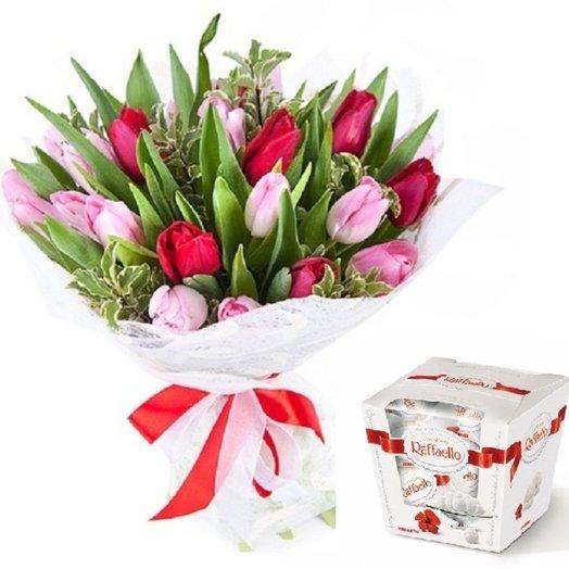 Идеальный комплимент: букеты цветов на заказ Flowwow