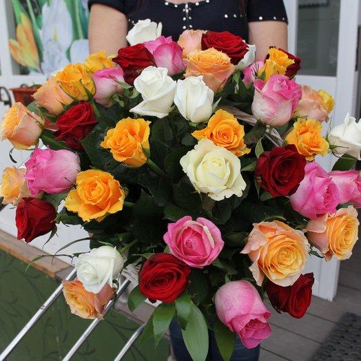Райская корзинка: букеты цветов на заказ Flowwow