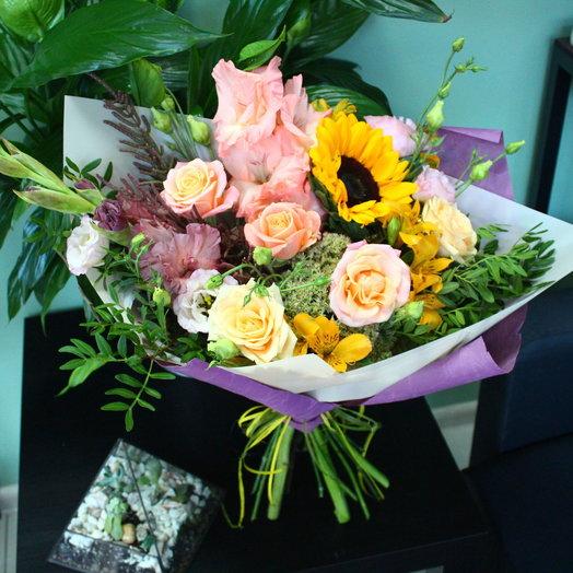 Букет Сантана: букеты цветов на заказ Flowwow