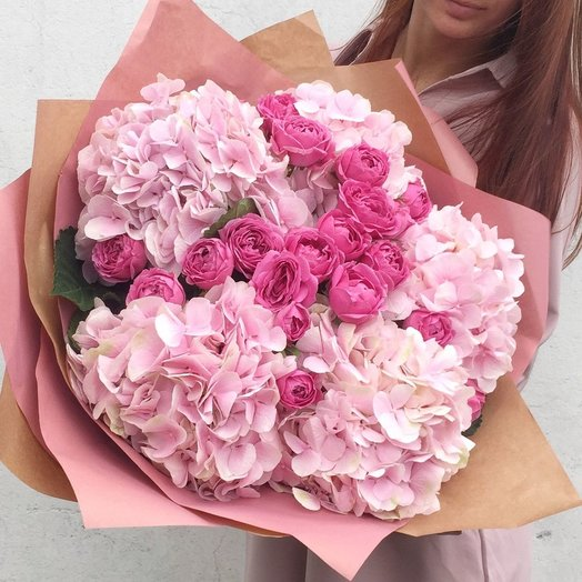 Розовый зефир / Pink zephyr