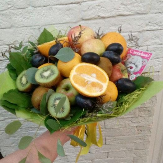 Фруктовый десерт: букеты цветов на заказ Flowwow