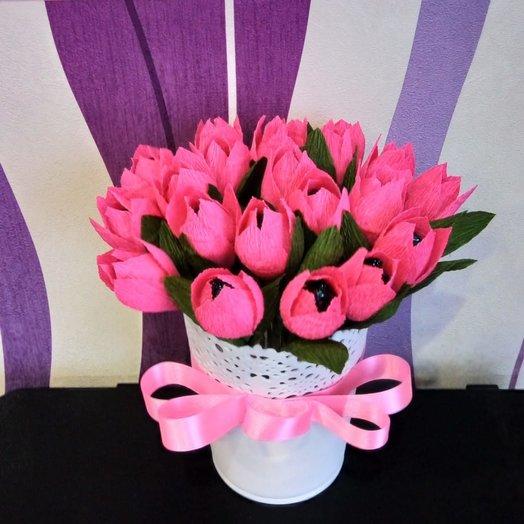 Сладкая композиция: букеты цветов на заказ Flowwow