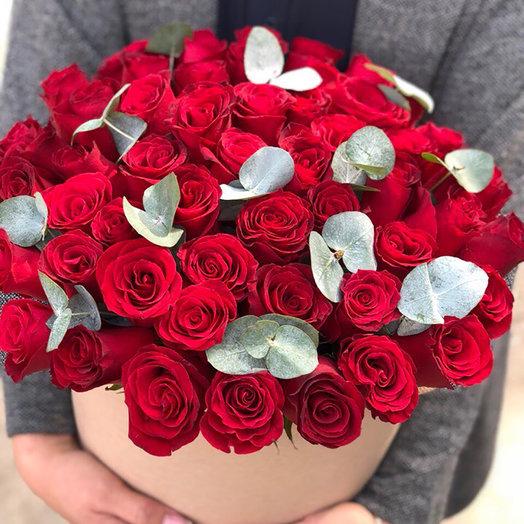 шляпная коробка 51 роза