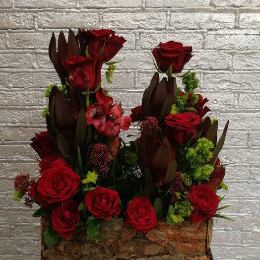 Лесная тропинка: букеты цветов на заказ Flowwow