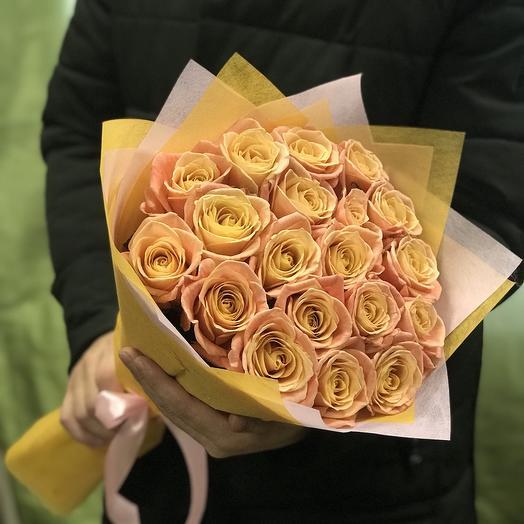 Букет из роз мисс пиги: букеты цветов на заказ Flowwow
