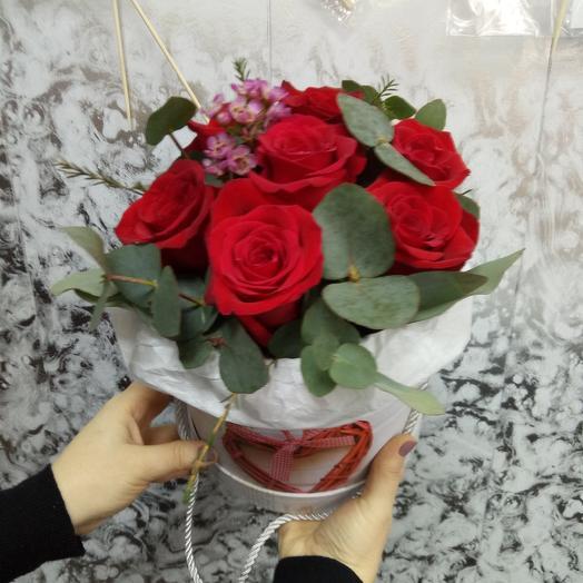 Вечер страсти: букеты цветов на заказ Flowwow