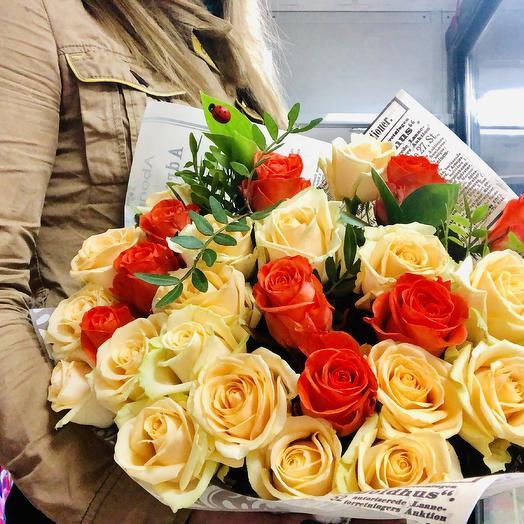 «Вау!»: букеты цветов на заказ Flowwow