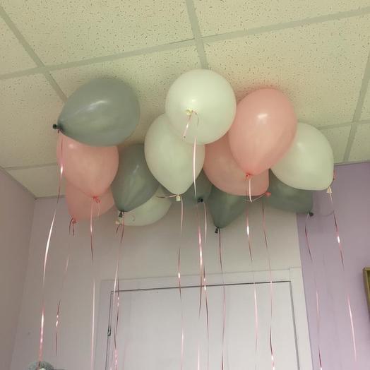 Воздушные шары под потолок 13 шт