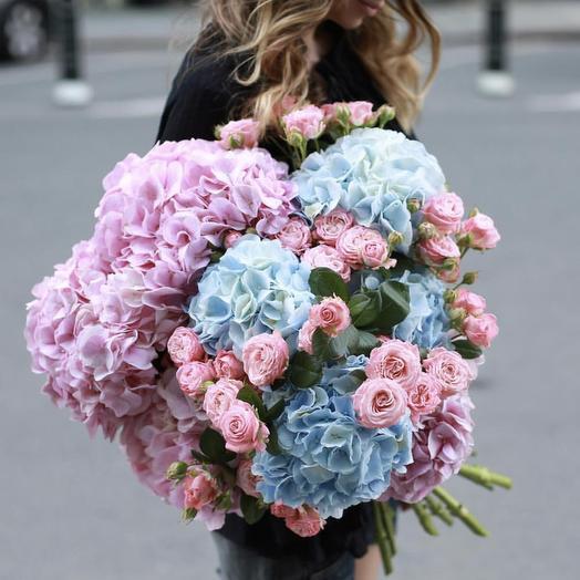 Утонуть в облаках: букеты цветов на заказ Flowwow