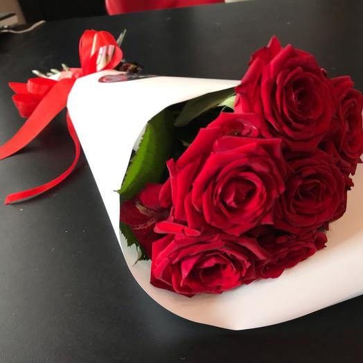 Букет «Думаю о тебе»: букеты цветов на заказ Flowwow