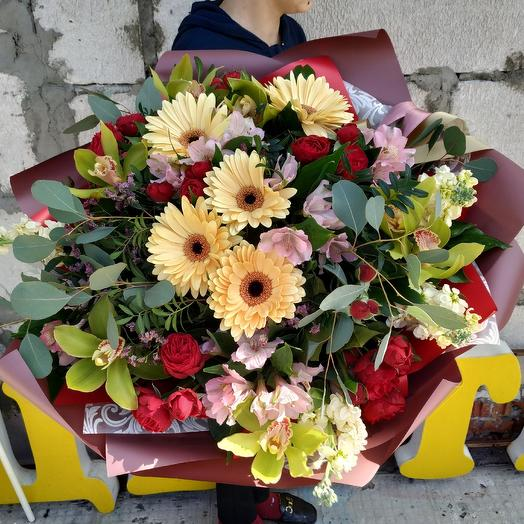 """Bouquet """"Scents of summer"""": flowers to order Flowwow"""