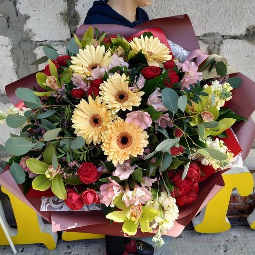 """Букет """"Ароматы лета"""": букеты цветов на заказ Flowwow"""