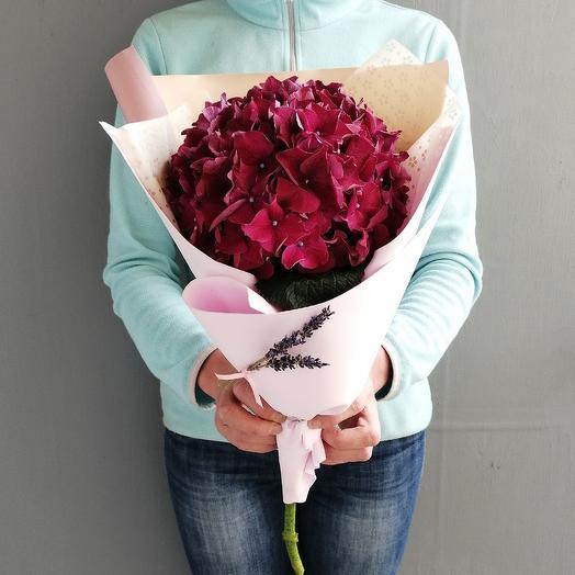 Летняя встреча букет из гортензии: букеты цветов на заказ Flowwow