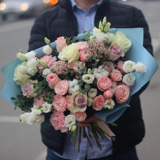 Нежная Мэри: букеты цветов на заказ Flowwow