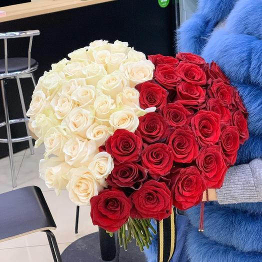 ️️️51 роза