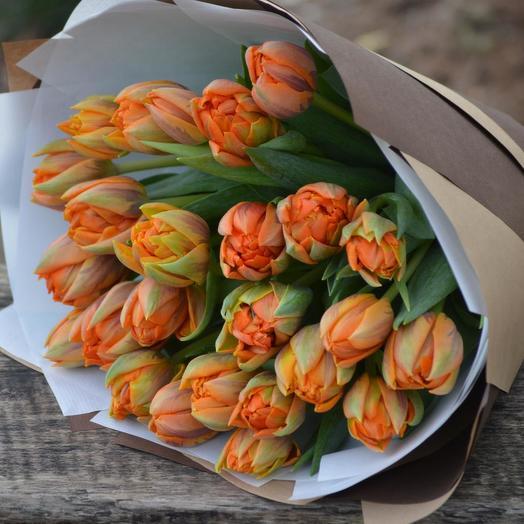 """Букет """"Оранжевый экспресс"""": букеты цветов на заказ Flowwow"""