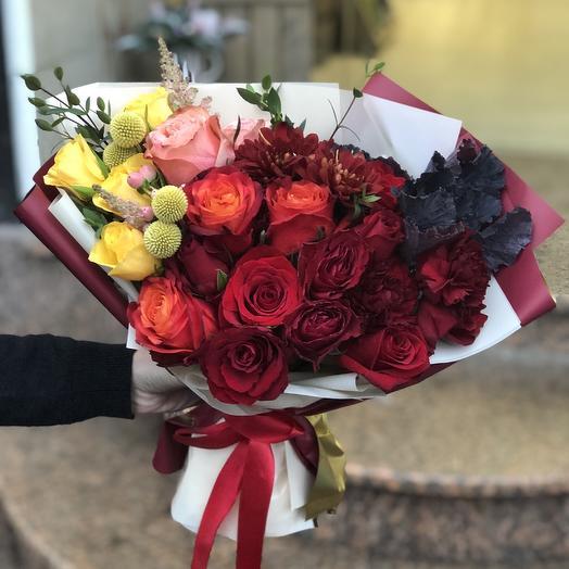 Авторский букет 3: букеты цветов на заказ Flowwow