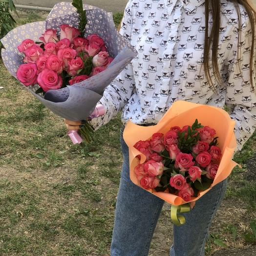 19 роз: букеты цветов на заказ Flowwow