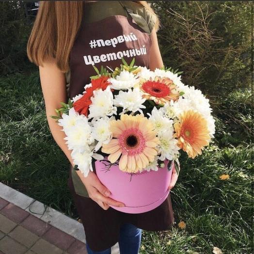 Микс коробка: букеты цветов на заказ Flowwow