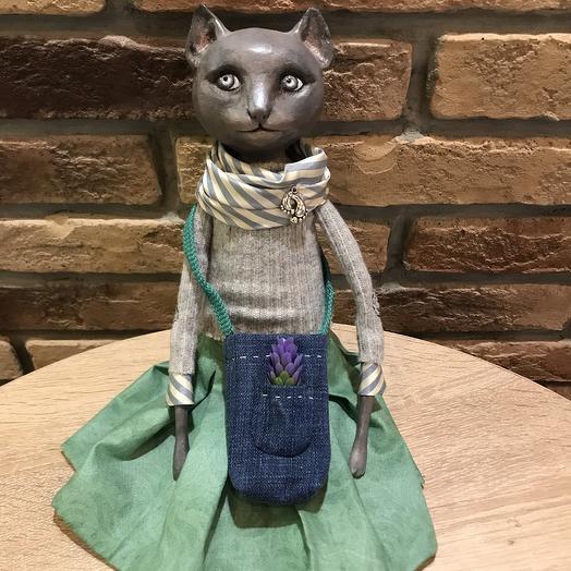 Кошка Элайза: букеты цветов на заказ Flowwow