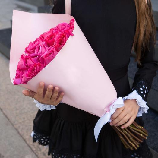 Розы с ароматом любви: букеты цветов на заказ Flowwow