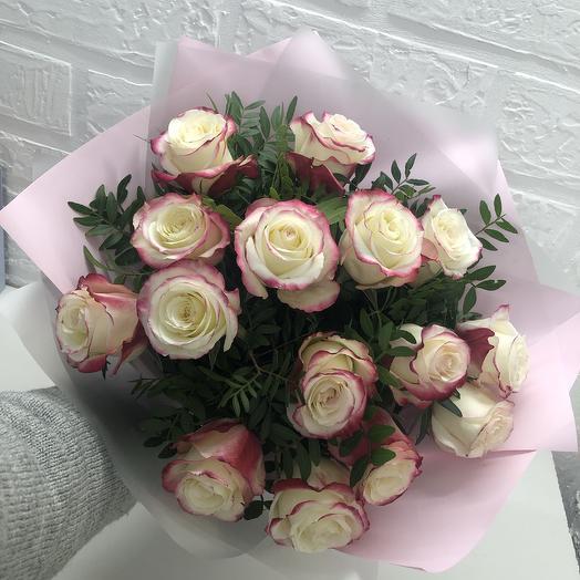 Розовая карамель: букеты цветов на заказ Flowwow