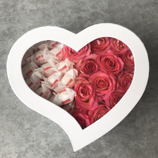 Отдай своё сердце: букеты цветов на заказ Flowwow