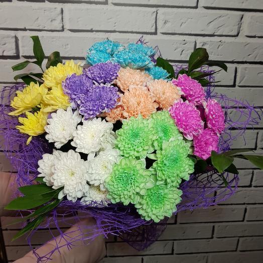 "Букет ""Танец Радуги"": букеты цветов на заказ Flowwow"