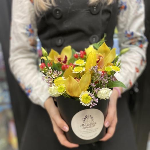 Композиция Осенний бриз: букеты цветов на заказ Flowwow