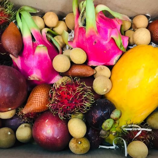 Экзотические фрукты к коробке